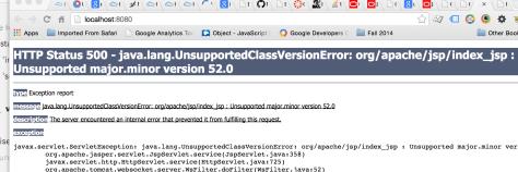 Java version problem