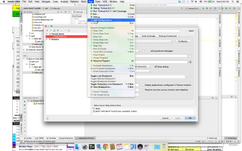 Run and Edit Configuration
