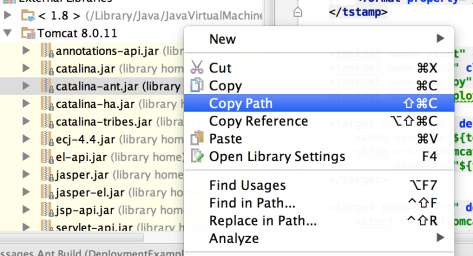 Select Copy Path