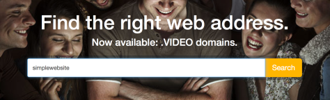 search simplewebsite enom