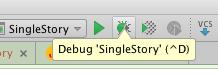 select debug mode
